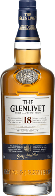Glenlivet 18 Year Old Single Malt Whisky 700ml