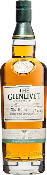 Glenlivet 15 Years Single Cask Morinsh Malt 700ml