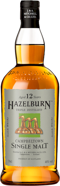 Hazelburn 12 Years Sherry Cask Campbeltown Malt 700ml