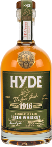 Hyde Bourbon Cask Irish Whiskey 700ml