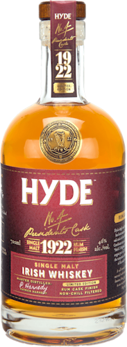 Hyde Single Malt Whiskey Rum Cask Finish 700ml