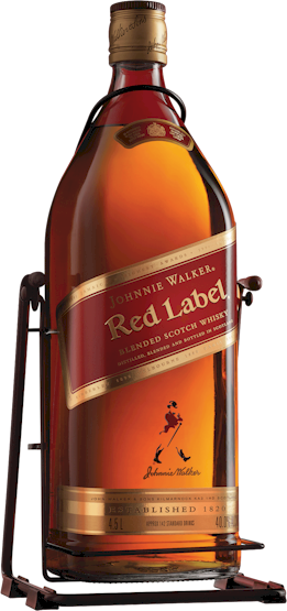 Johnnie Walker Red Label Cradle Scotch 4.5 LITRES - Buy
