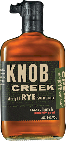 Knob Creek Straight Rye 100 Proof Whisky 700ml