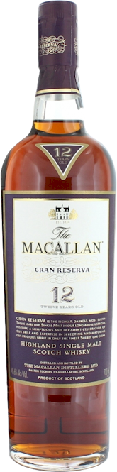 Macallan 12 Year Old Gran Reserva 700ml