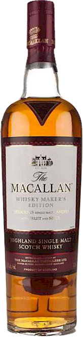 Macallan Whisky Makers Edition Speyside Malt 700ml