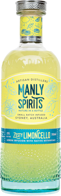 Manly Spirits Zesty Limoncello 700ml