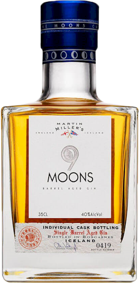 Martin Millers 9 Moons Gin 350ml
