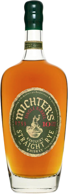 Michters Single Barrel 10 Year Straight Rye 700ml