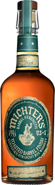 Michters Toasted Oak Barrel Strength Straight Rye 700ml