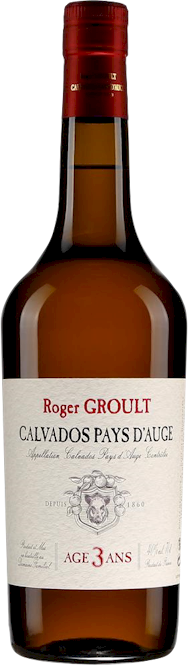 Roger Groult Pays dAuge 3 Years Calvados 700ml