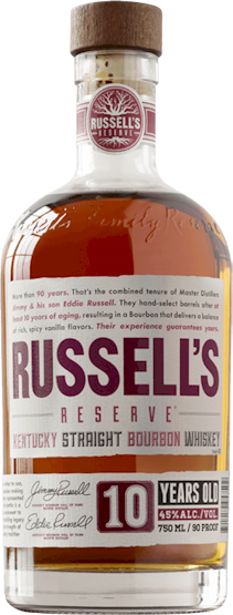 Russells Reserve 10 Year Small Batch Bourbon 700ml