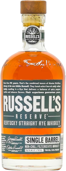 Wild Turkey Russells Reserve Single Barrel Rye 750ml