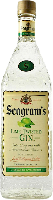 Seagrams Lime Twisted Gin 700ml