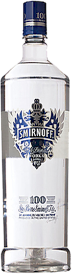 Smirnoff Vodka Blue Label 100 Proof 700ml - Buy