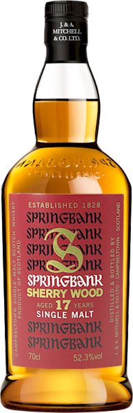 Springbank Sherry Wood 17 Year Cask Strength Malt 700ml