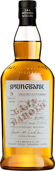 Springbank 9 Year Gaja Barolo Cask Strength Malt 700ml - Buy