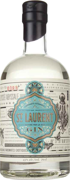 St Laurent Canadian Gin 700ml