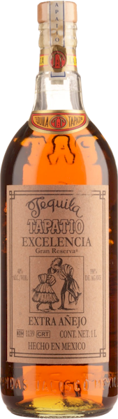 Tapatio Tequila Excelencia Extra Anejo Litre 1000ml