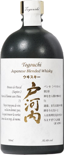 Togouchi Blended Japanese Malt Whisky 700ml