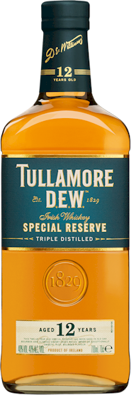 Tullamore Dew 12 Years Irish Whiskey 700ml