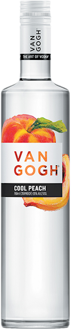 Van Gogh Cool Peach Vodka 750ml
