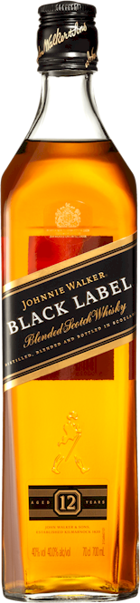 Johnnie Walker Black Label Scotch Whisky 700ml