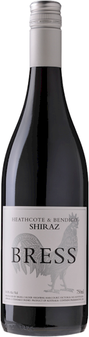 Bress Silver Chook Heathcote Bendigo Shiraz 2015