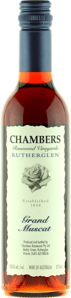 Chambers Rosewood Grand Muscat 375ml