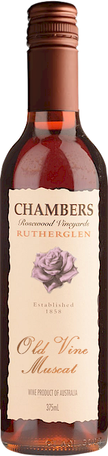 Chambers Rosewood Old Vine Muscat 375ml