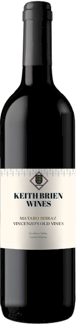 Keith Brien Vincenzo Block Mataro Shiraz 2008