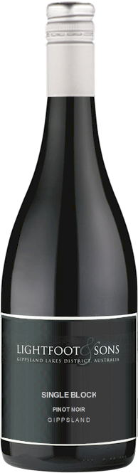 Lightfoot Sons Cliff Block Pinot Noir 2015