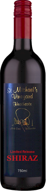 St Michaels Heathcote Shiraz 2014 - Buy