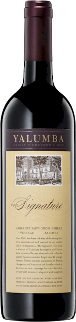 Yalumba Signature Cabernet Shiraz 2012