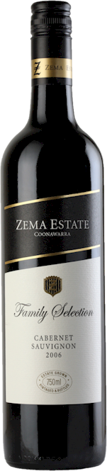 Zema Estate Family Selection Cabernet Sauvignon 2012